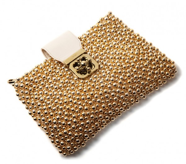 Chloe Clutch Spring 2011 | Champagne and Heels