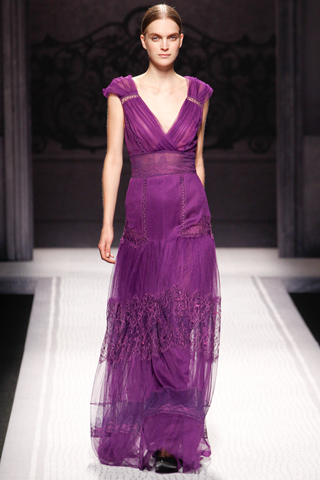 AEFFE fall 2012 gown00360m