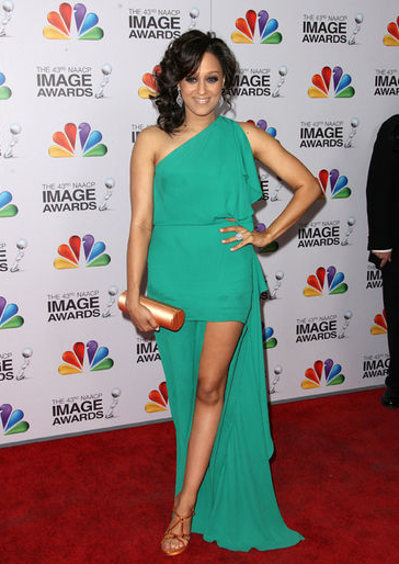 Tia Mowry BCBG Amanda Pearl