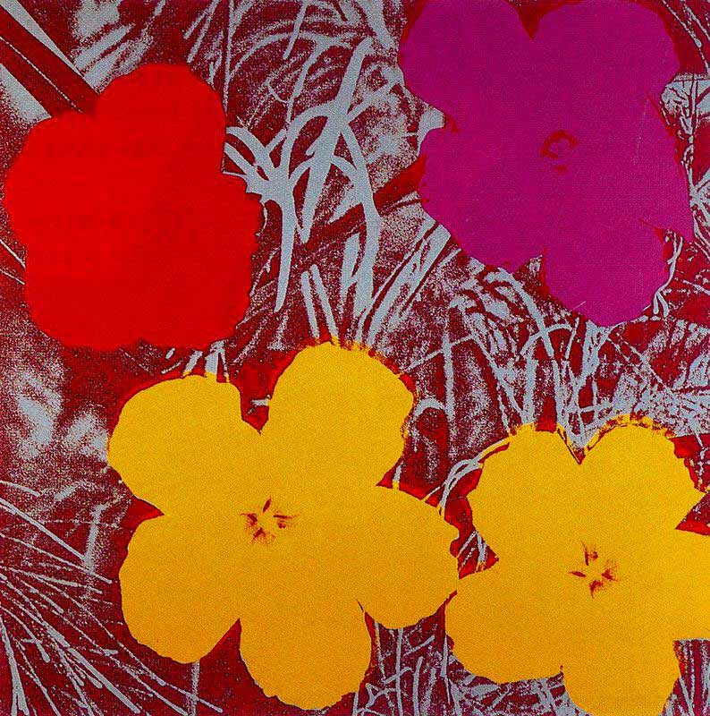Flowers-Andy-Warhol-1970   Champagne and Heels