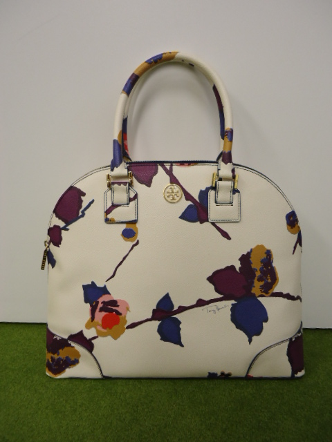 Robinson Large Dome Satchel in Printed Crespi Fontana Alpine Snow