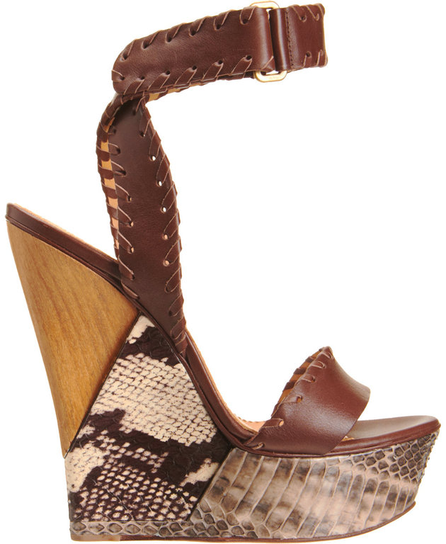 lanvin-brown-snakeskin-puzzle-wedge