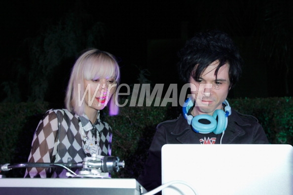 Nick Zinner and Karen O at Rag &amp; Bone