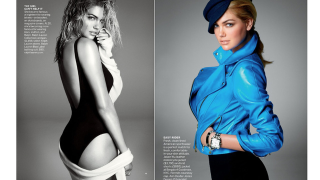 kate upton vogue us page 2