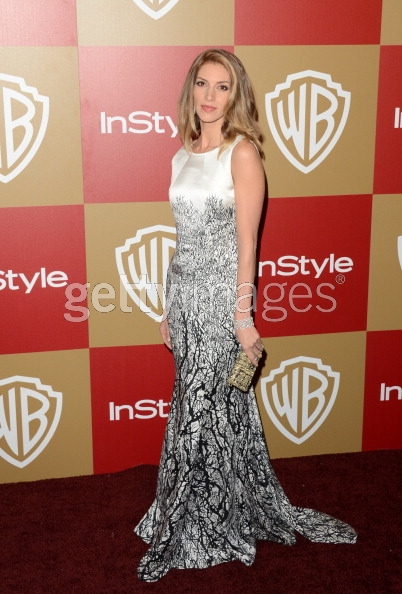 Dawn Olivieir in Novis at InStyle Globes 2013