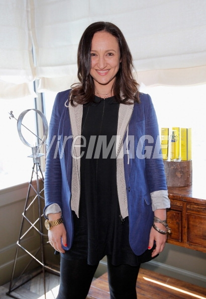HK in Veronica Beard at Soho House Rodial Event 2013