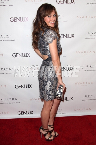 Nikki in C ronson at Genlux Back