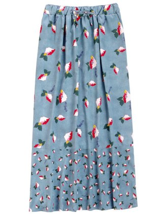 SUNO_Uniqlo_long skirt