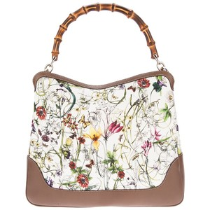 gucci flower print bag