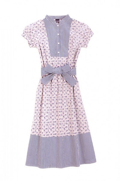 suno-uniqlo-printed-belted-dress