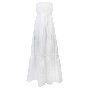 flavio white dress
