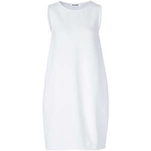 jil sander white dress