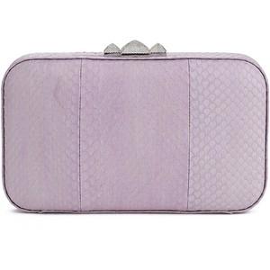 lilac clutch rebecca
