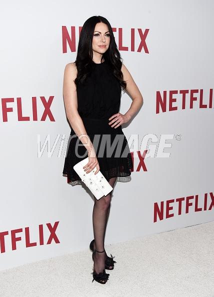Laura Prepon iat Netflix rebels May 2016