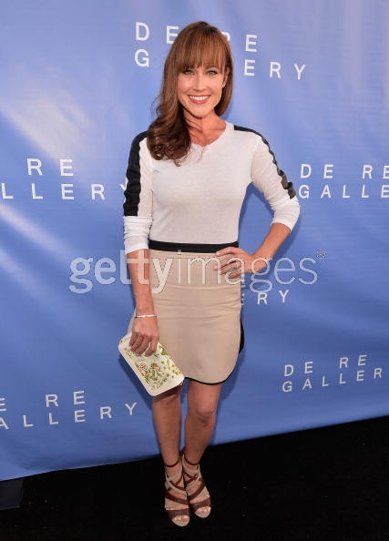 Nikki in Ina Top Contrarian Skirt tory clutch Nine west heels