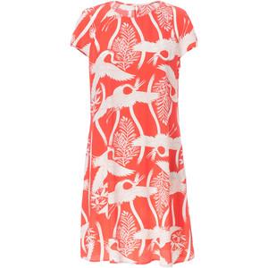 print dress zara