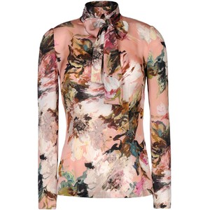 collage abstract blouse dolce