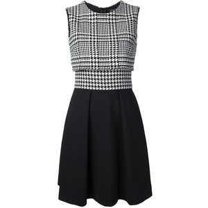 houndstooth dress Dinou