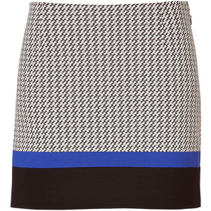 houndstooth skirt tibi