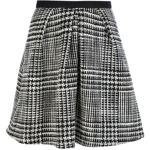 houndstooth skirt zoe