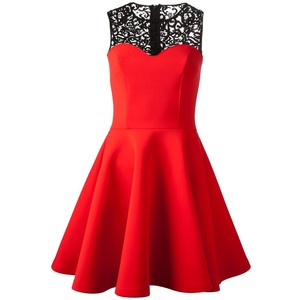 red msmgm dress