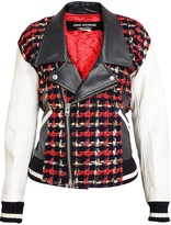 Plaid_junya-watanabe-farfetchcom-leather-jackets-tweed-and-synthetic-leather-biker-jacket
