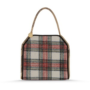 plaid bag stella