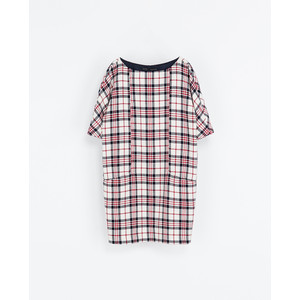 plaid zara dress