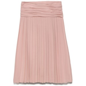 pink skirt tory burch