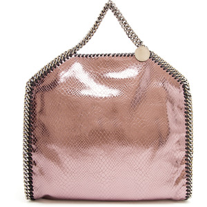 pink stella faux bag
