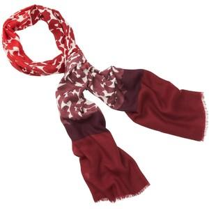 burgundy loft scarf