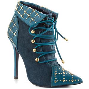 blue booties