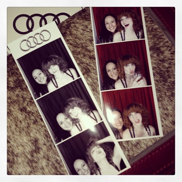 Audi photo booth