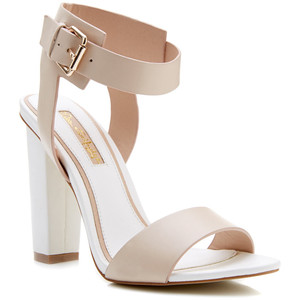 Miss Selfridge chelsea block heel sandal