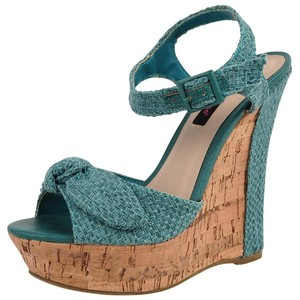 cheap wedges mint dollhouse