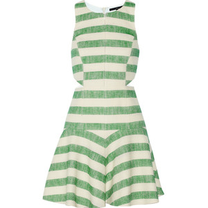 dress tibi stripes