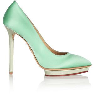 mint charlotte heels