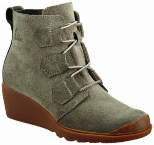 sorel suede lace up