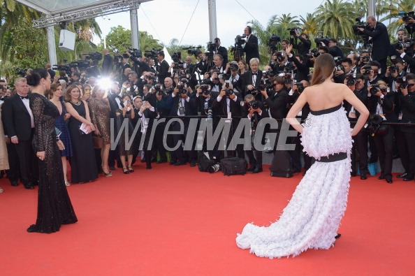 cannes Laetitia Casta