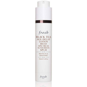 fresh black tea age delay lotion