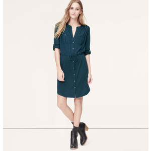dress loft shirtdress