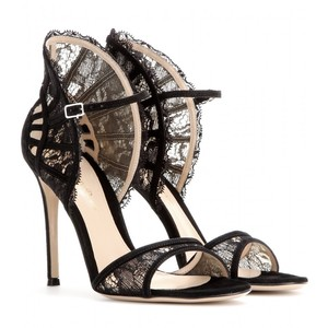 A_Rossi suede lace sandals