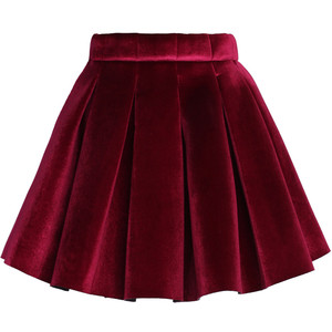 a_holiday skirt chicwish