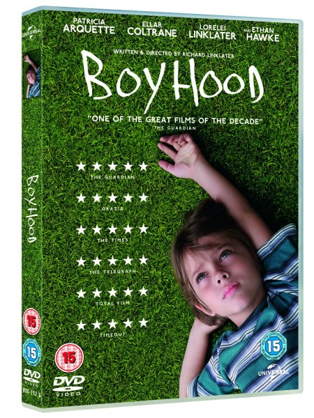 Boyhood on DVD