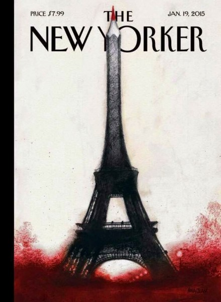 A New Yorker Cover_paris