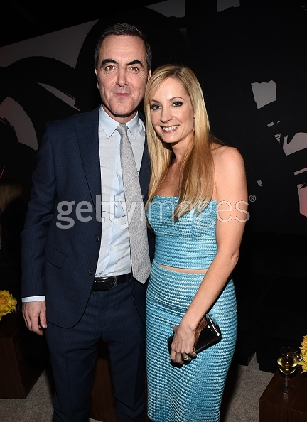 Actors James Nesbitt and Joanne Froggatt