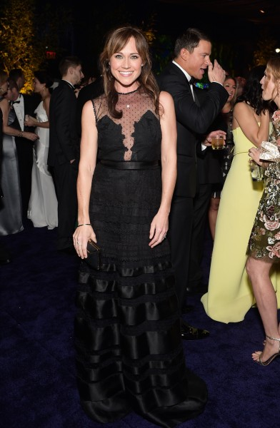 Nikki Inside the Globes Party 2015