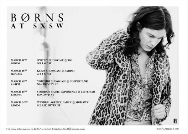 Borns SXSW