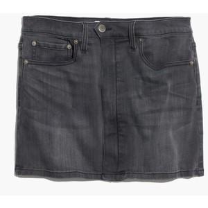 Blk denim skirt madewell