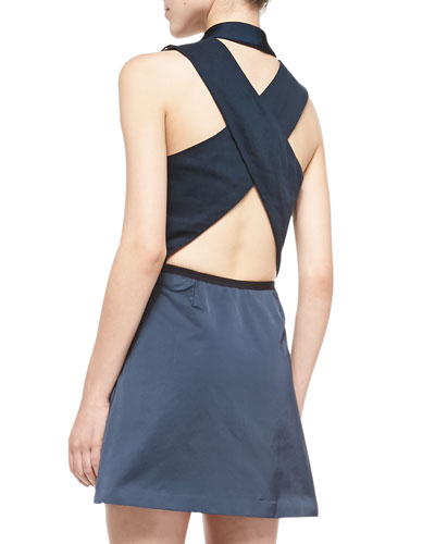 SHOPBOP_Band of outsiders crisscross dress